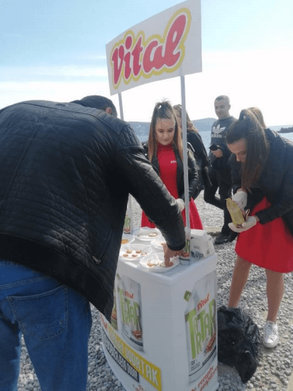 VITAL Promotional Activities – Feast of Mimoza Herceg Novi 2020