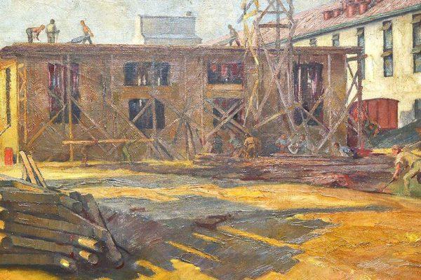 Uljara-1948-B-PEHAN-ulje-na-platnu