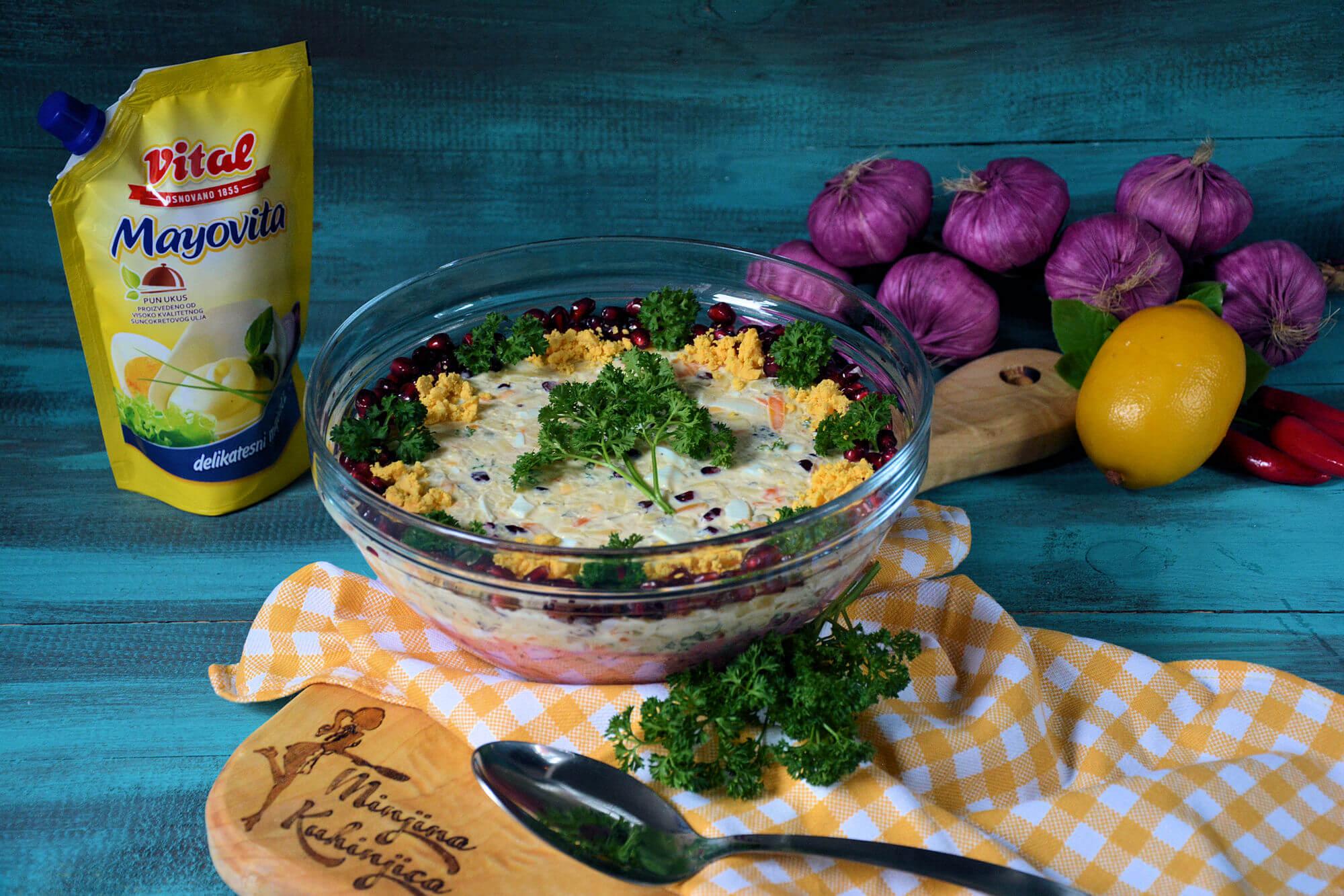 Dvobojna carska salata (video)